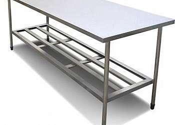 Mesa de aço inox para cozinha