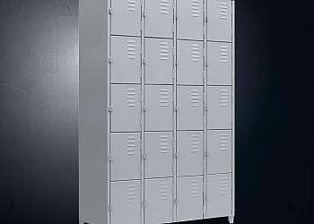 Roupeiro de aço 20 portas com chave