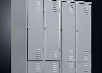 Roupeiro de aço 8 portas grandes Osasco