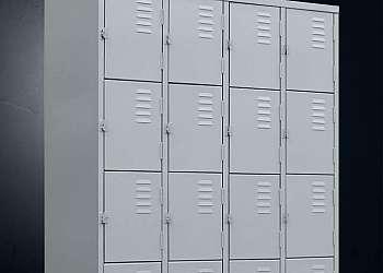 Roupeiro de aço para alojamento Sorocaba